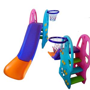 Tobogan Escalones tipo Escalera Super Seguro 4 Niveles + Aro de Basket + Pelota + Inflador