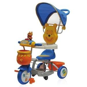 Triciclo Direccional Winnie-the-Pooh Desde 6 Meses con Sonido