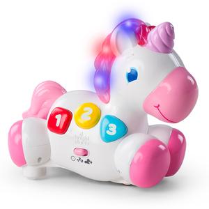 Unicornio Interactivo con Sonido, Luces Incentiva a Gatear