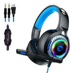 Auriculares Gamer A60 Master 4D Microfono y Luces RGB