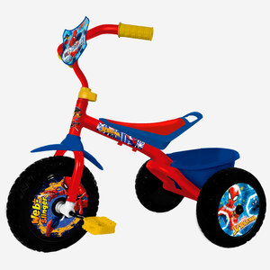 Triciclo Spiderman Unibike Ultra Resistente Original