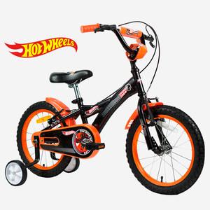 Bicicleta Varon Rod 16 Rueditas Hot Wheels Rayos Acero