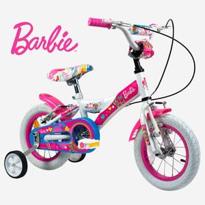 Bicicleta Rodado 12 de 2 a 4 Años Barbie 100% Original Rayos
