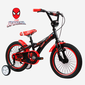 Bicicleta Rod 16 Rueditas Spiderman Rayos Acero Original