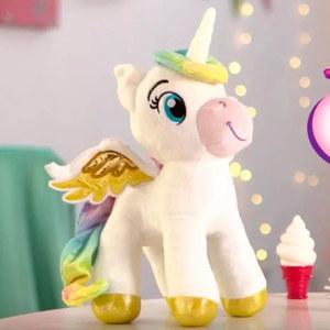 Unicornio Interactivo con Varita Magica, Luces y Sonido