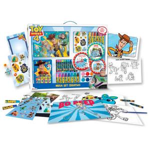 Mega Set Creativo Toy Story 4 Album, Stickers, Crayones y mas Original