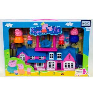 Casa Familia Peppa Pig con Columpio