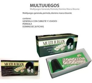 Multijuegos Generala, Dominó, Perinola y Mas Original