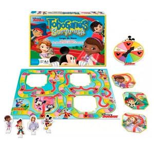 Juego de Mesa Toboganes Sorpresas Disney Junior Original