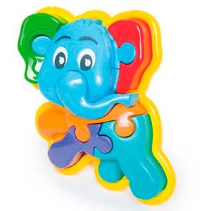 Rompecabezas 3D Elefante Calesita Original