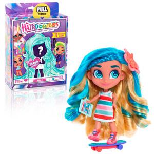 Muñecas Sorpresas Hairdorables Youtubers con Pelo Original