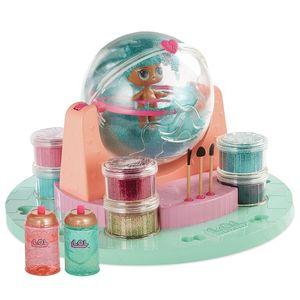 Lol Diy Glitter Fabrica de Brillo + 1 Muñeca+ Maniqui y mas