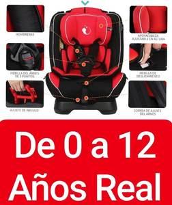 Butaca Completa Bebe Niños Reclinable 0 A 12 Años 0-36 Kg