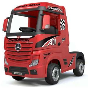 Camion Mercedes Benz 12V R/C Amortiguación Mp3 Luces Original