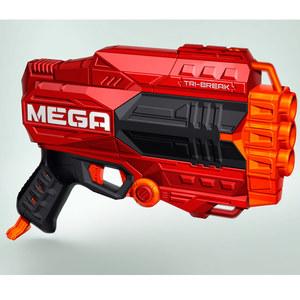 Nerf Mega Tri-Break 3 Dardos Silvadores Original Hasbro