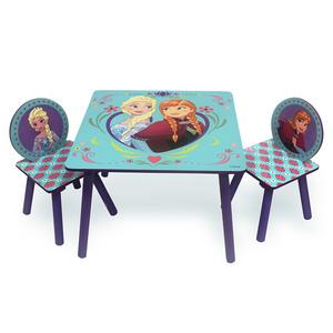 Juego De Mesa Y Sillas Infantil Frozen Original Disney