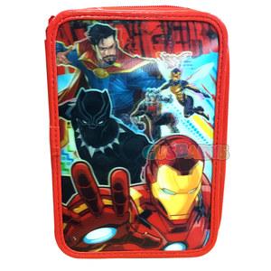 Cartuchera 3D Avengers 2 Cierres Original
