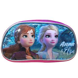 Cartuchera Frozen Anna y Elsa 1 Cierre Original