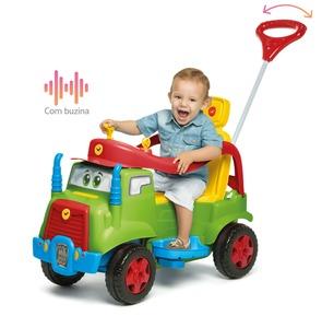 Camion Mk Andarin Cuatriciclo a Pedal 2 en 1 Direccional Reclinable Musical