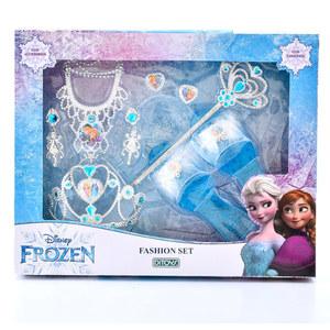 Fashion Set Frozen Accesorios + Zapatitos Original