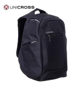 Mochila Unicross Original Antirrobo Con Conexión Usb Y Audio
