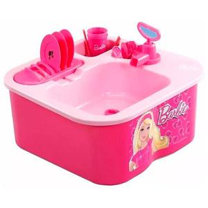 Lavavajillas Barbie Utensilios Canilla de Verdad Original