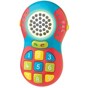 Telefono Bebe Luces Sonido Melodias 2 Modos Playgro