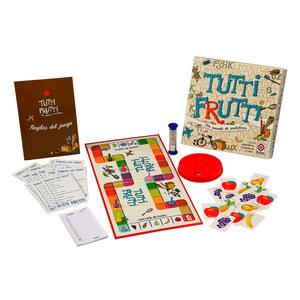 Juego de Mesa Tutti Frutti Un Mundo de Palabras