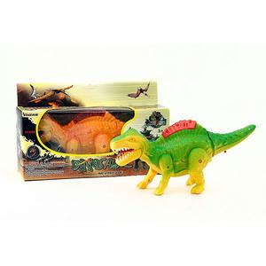 Dinosaurio a Pila Camina con Luz y Sonido