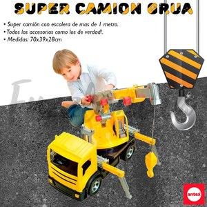 Super Camión Grua Gigante con Escalera de mas de 1 metro