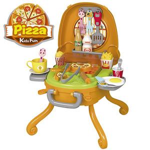 Mesita Pizza Portatil Se Convierte en Valija incluye Accesorios
