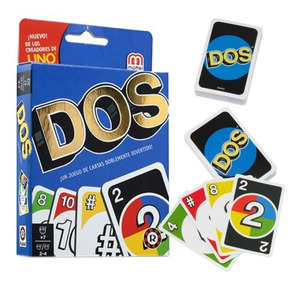 DOS, una nueva versión del popular juego de cartas Uno