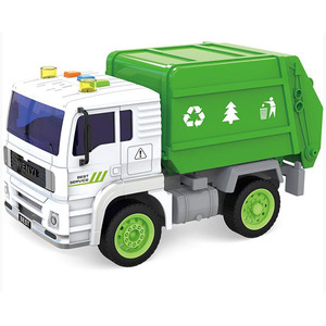 Camion Residuos Con Luces Y Sonido 28cm A Friccion
