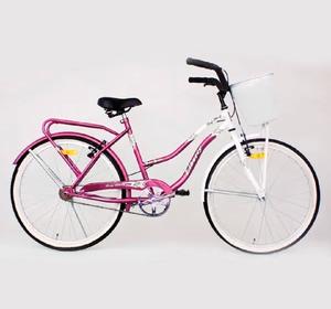 Bicicleta Liberty de Paseo Primavera con Canasto Rodado 24 Original