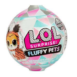 Lol Surprise Fluffy Pets Winter Disco Serie 6 Original