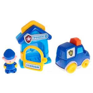 Set Estación Policia Patrulla Luces y Sonido