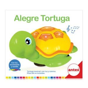 Tortuga Alegre con Sonido, Luz y Movimiento Antex