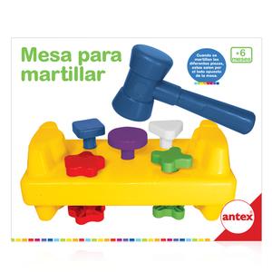 Antex Bebé Mesa Para Martillar Banco De Descarga Didactico
