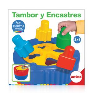 Tambor y Encastres de un Lado Tambor y del otro Encastre Antex