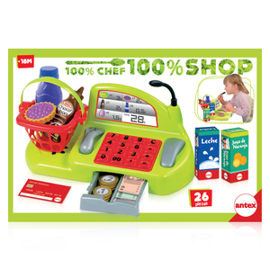Caja Registradora Súper Shop Supermercado Antex