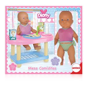 Bebe Diony Mesa Comidita Antex Divertida mesa para darle de comer a tu bebe