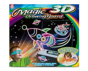 Pizarra Magica 3d De Dibujo Magic Drawing Board Original