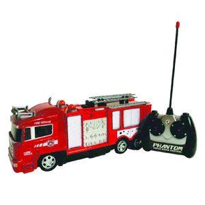 Camión Bomberos a Radio Control Luces Escala 1:30