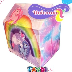 Carpa Casita Unicornio 75 x 100 x 105cm Faydi
