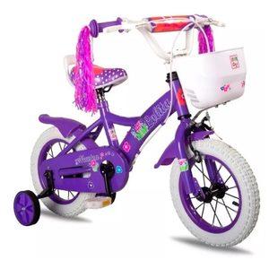Bicicleta Rodado 12 Asiento Super Acolchado Lolita