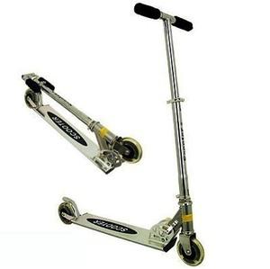 Monopatin Scooter De Aluminio C/ruedas Silicona