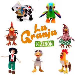 Peluches Musicales La Granja de Zenon 25cm x1