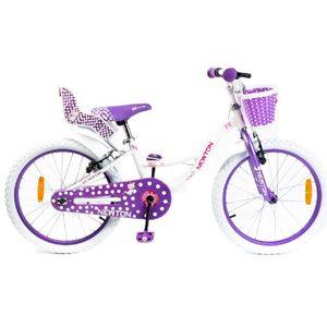 Bicicleta Rodado 20 Newton Sweet Canasto Sillita