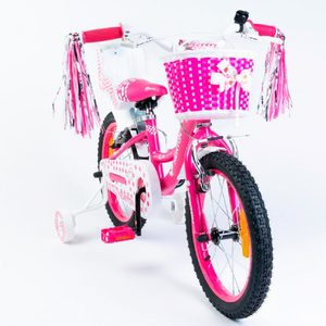Bicicleta Rodado 12 Newton Sweet Aluminio Canasto Sillita