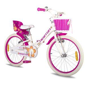 Bicicleta Rodado 20 Newton Fiore Canasto Sillita